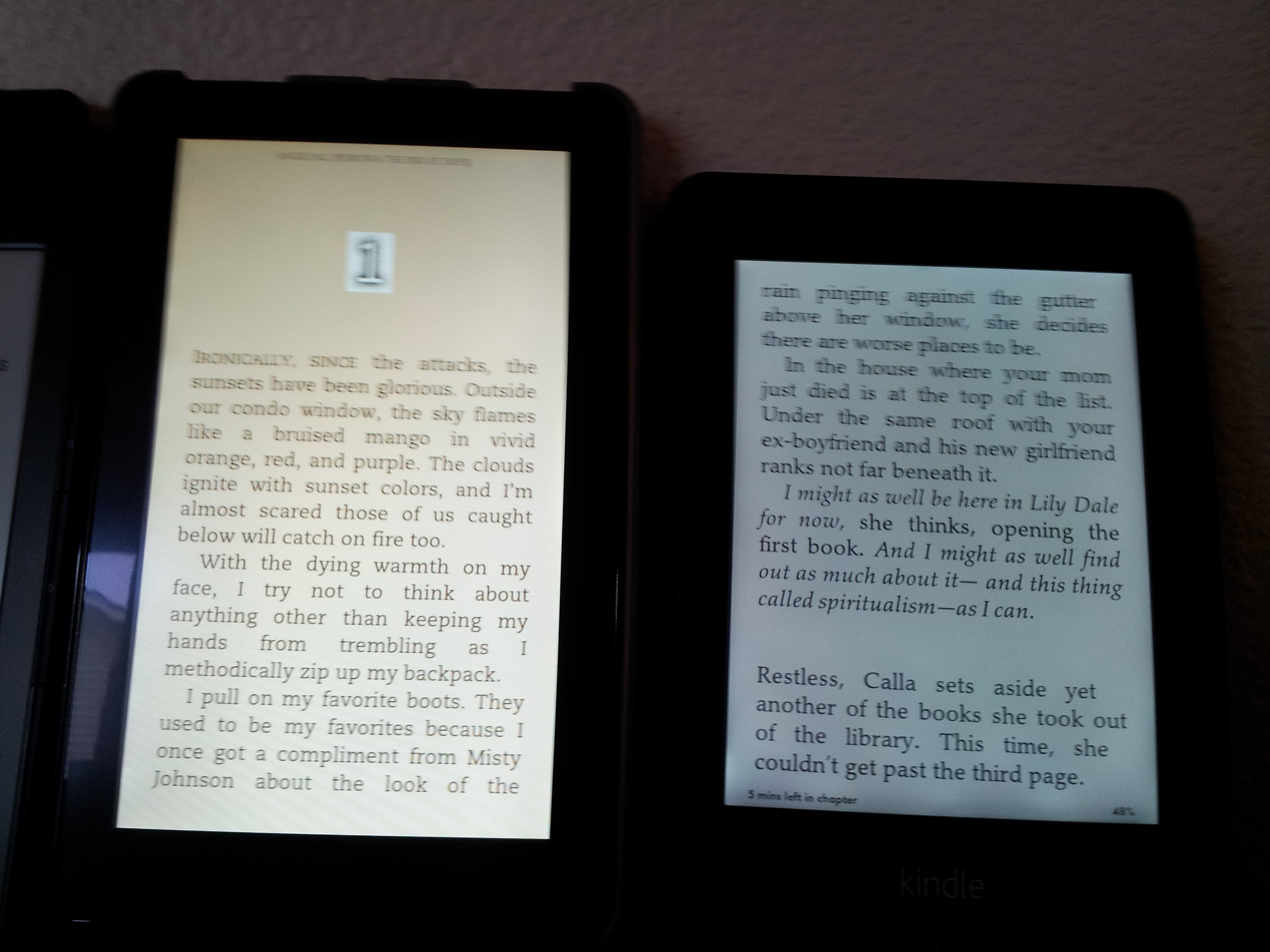 Kindle Paperwhite Love It Returning It Mailbox Monday