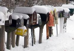 SnowyMailboxes